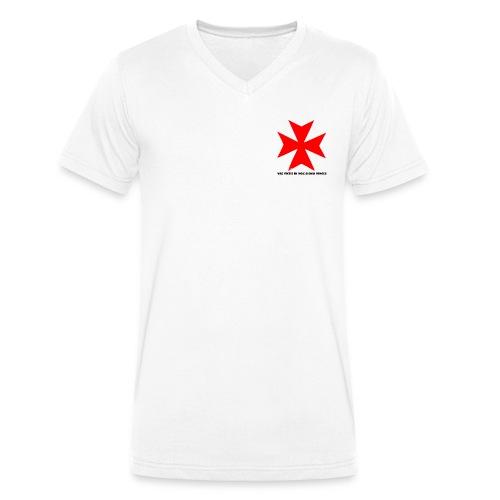 TEMPLIERS NOIR - T-shirt bio col V Stanley & Stella Homme