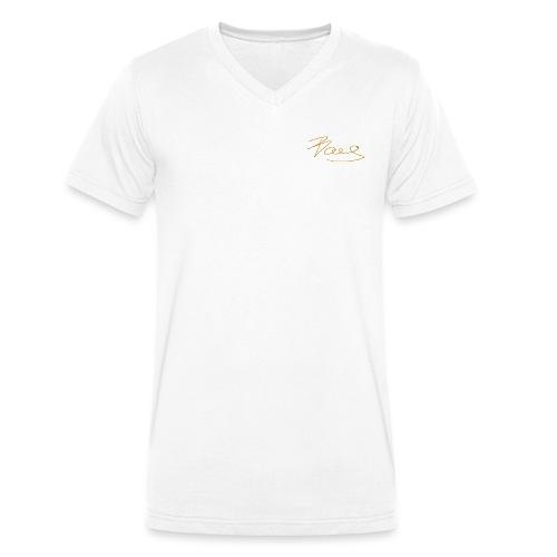 BOAS Sign - Männer Bio-T-Shirt mit V-Ausschnitt von Stanley & Stella
