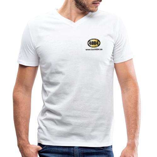 logoeinfach schwarz - Männer Bio-T-Shirt mit V-Ausschnitt von Stanley & Stella