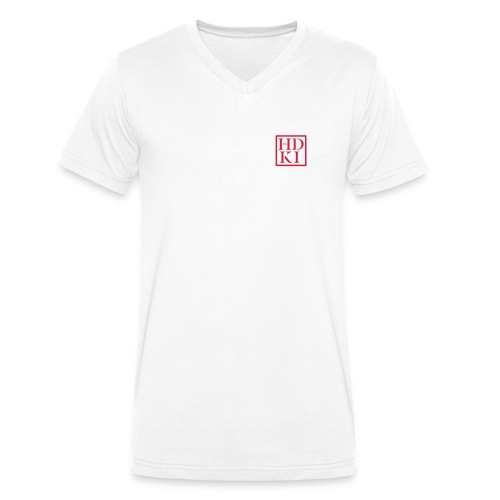 HDKI logo - Men's Organic V-Neck T-Shirt by Stanley & Stella
