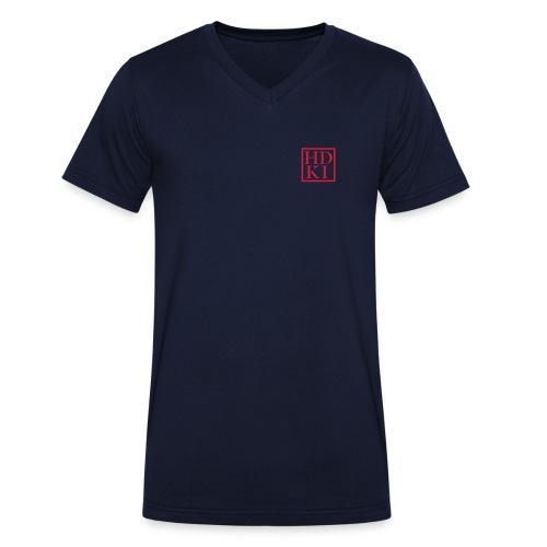 HDKI logo - Men's Organic V-Neck T-Shirt by Stanley & Stella
