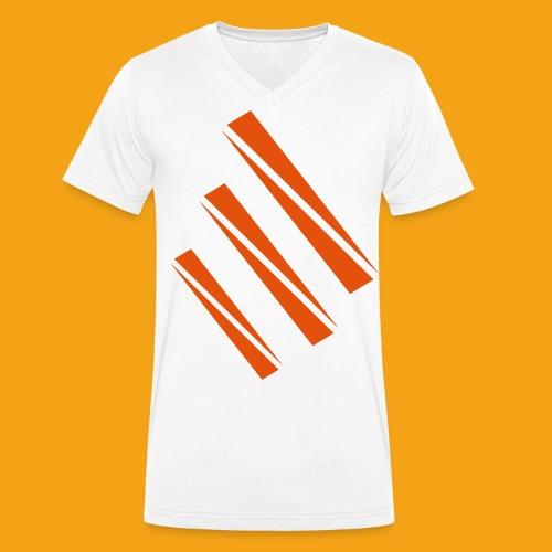 skrvktest - Ekologisk T-shirt med V-ringning herr från Stanley & Stella