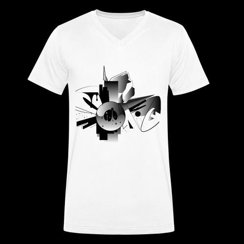 Sonic - Männer Bio-T-Shirt mit V-Ausschnitt von Stanley & Stella