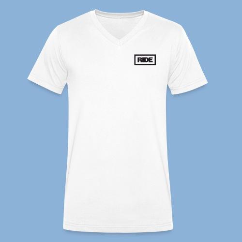 Ride Merchandise - Men's Organic V-Neck T-Shirt by Stanley & Stella