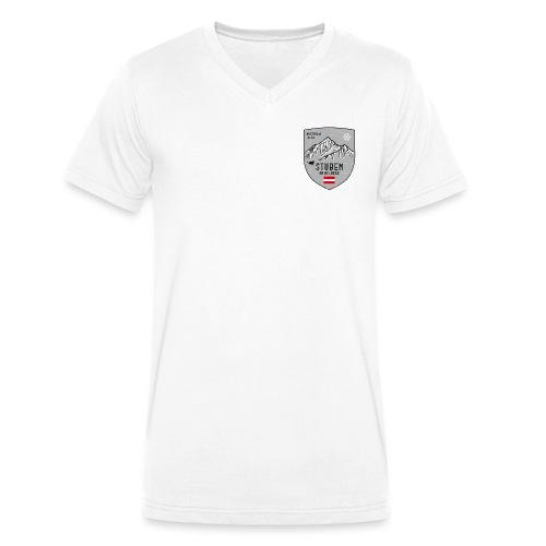Stuben Österreich Wappen - Men's Organic V-Neck T-Shirt by Stanley & Stella