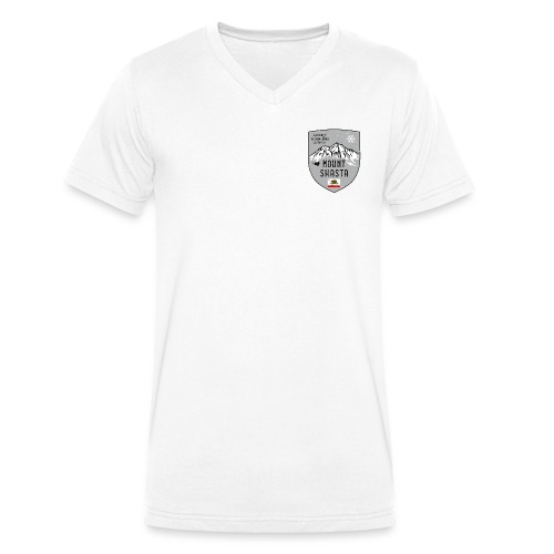 Shasta USA Wappen - Men's Organic V-Neck T-Shirt by Stanley & Stella