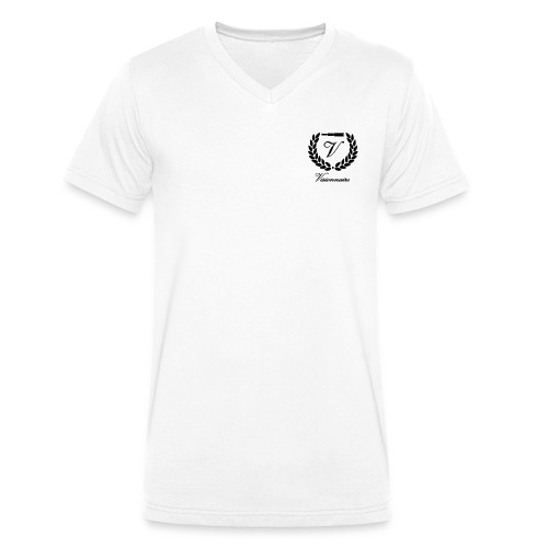 visio sans fond avec text - T-shirt bio col V Stanley & Stella Homme
