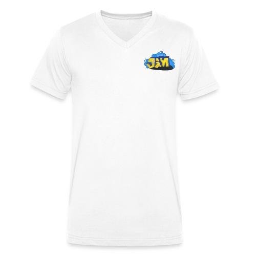 Steine Hintergrund - Männer Bio-T-Shirt mit V-Ausschnitt von Stanley & Stella