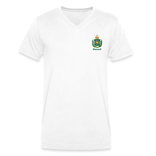 Império do Brasil - Økologisk T-skjorte med V-hals for menn fra Stanley & Stella