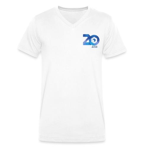20 ans de l'AFUP - par Laury S. - T-shirt bio col V Stanley & Stella Homme