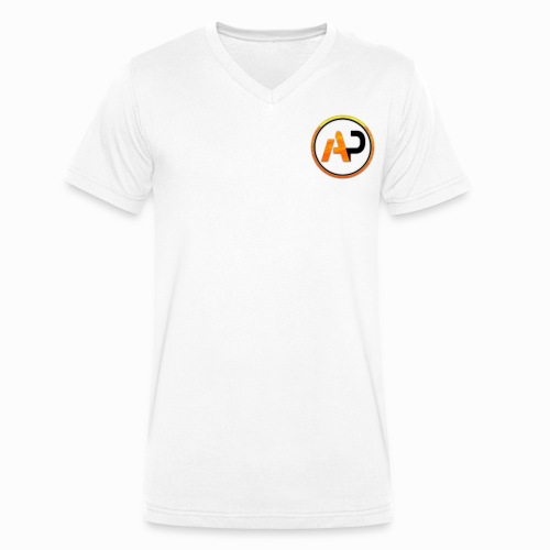 aaronPlazz design - Men's Organic V-Neck T-Shirt by Stanley & Stella
