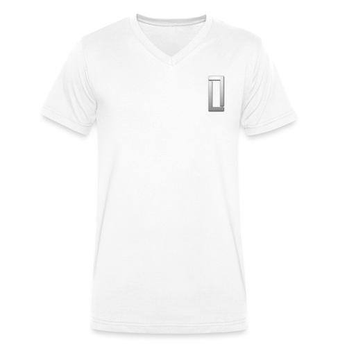 luciano logo clear - Mannen bio T-shirt met V-hals van Stanley & Stella