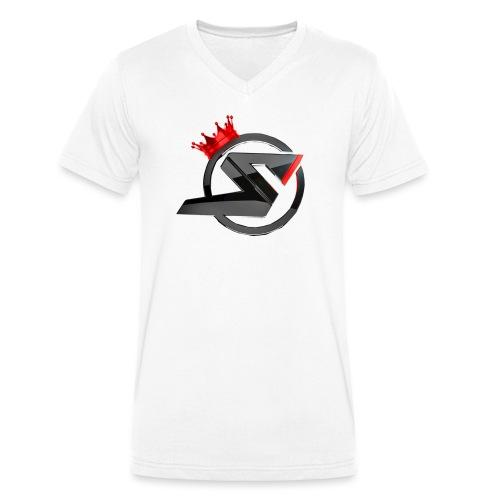 dtsr png - Männer Bio-T-Shirt mit V-Ausschnitt von Stanley & Stella