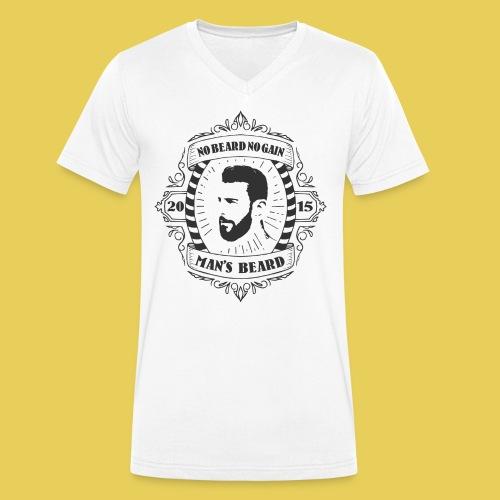 No Beard No Pain - T-shirt bio col V Stanley & Stella Homme