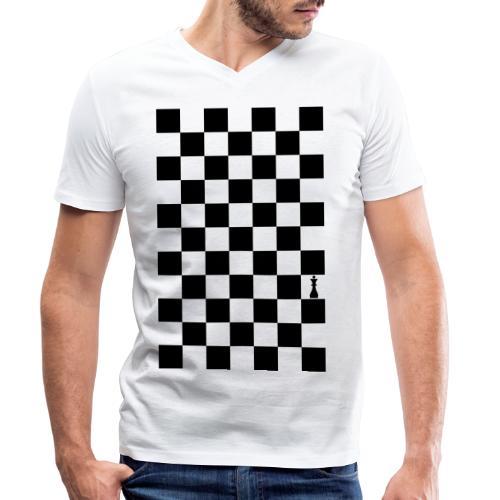Queen - Männer Bio-T-Shirt mit V-Ausschnitt von Stanley & Stella