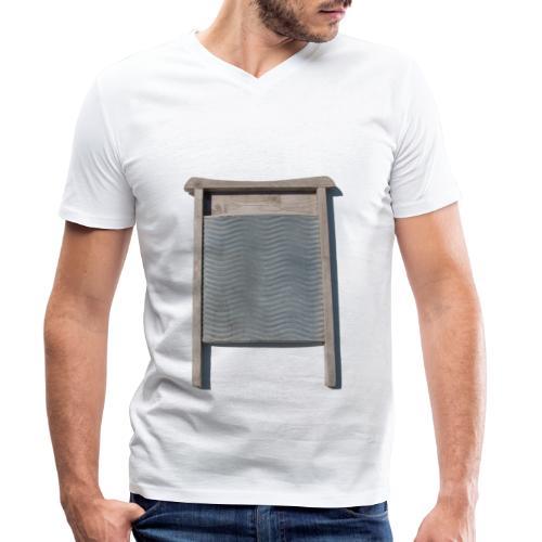 Vaskebræt - sixpack - Økologisk Stanley & Stella T-shirt med V-udskæring til herrer