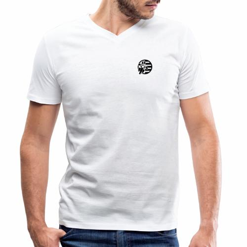 BZH Rider (sans fond) - T-shirt bio col V Stanley & Stella Homme