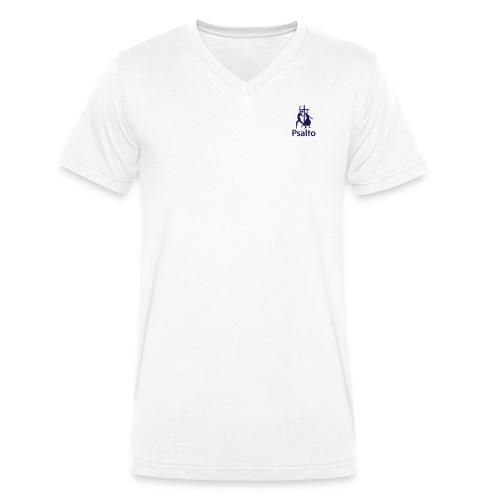 psalto02 - Ekologisk T-shirt med V-ringning herr från Stanley & Stella