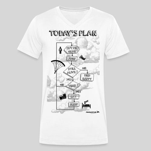 Today s plan - T-shirt bio col V Stanley & Stella Homme