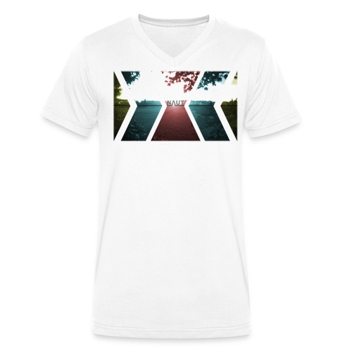 Naut 4 colours - Männer Bio-T-Shirt mit V-Ausschnitt von Stanley & Stella