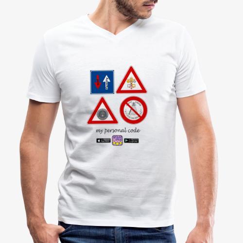 My personal code - T-shirt ecologica da uomo con scollo a V di Stanley & Stella
