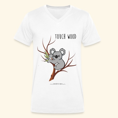 koala's tree - T-shirt bio col V Stanley & Stella Homme