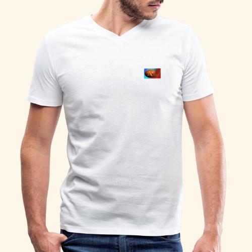 NathanielsLogo2 - Männer Bio-T-Shirt mit V-Ausschnitt von Stanley & Stella