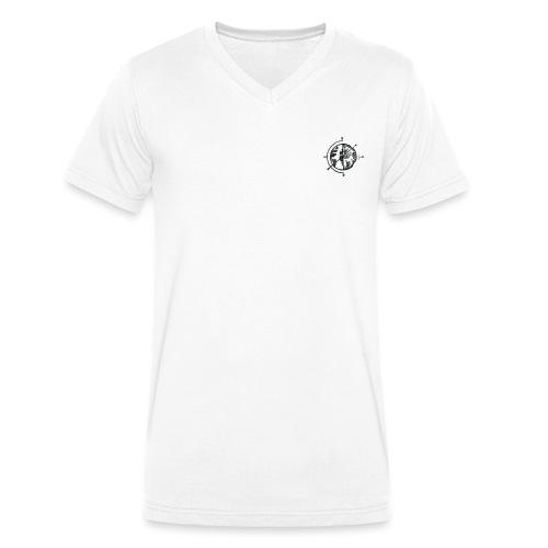 KOMPAS OFFICIAL - Mannen bio T-shirt met V-hals van Stanley & Stella
