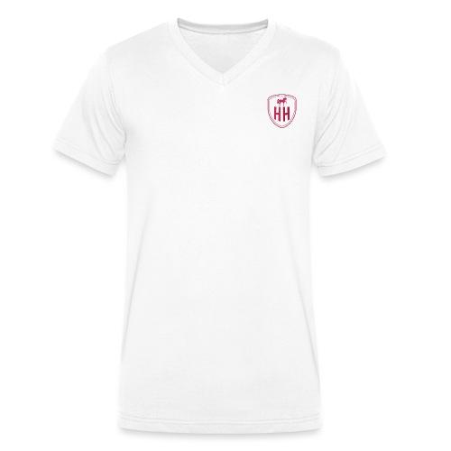 High Horsie Brand - Men's Organic V-Neck T-Shirt by Stanley & Stella