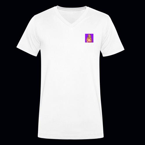 lolipopGirl - Økologisk Stanley & Stella T-shirt med V-udskæring til herrer