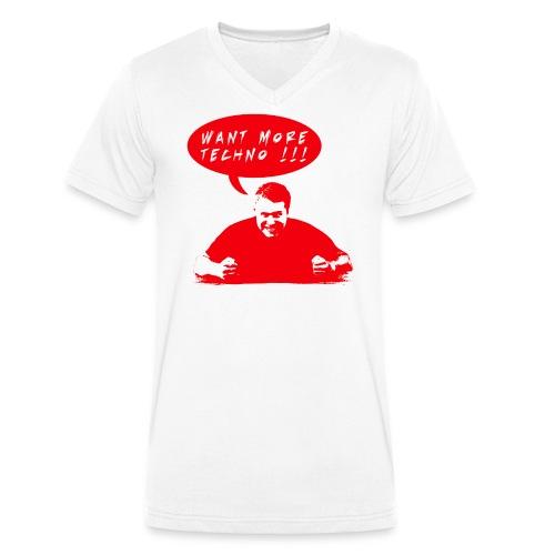 cid 72998D87 39BC 477F 949D 908DA022B647 png - Männer Bio-T-Shirt mit V-Ausschnitt von Stanley & Stella