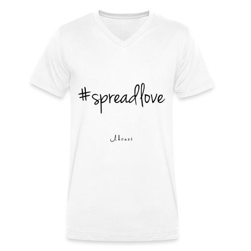 #spreadlove - Men's Organic V-Neck T-Shirt by Stanley & Stella