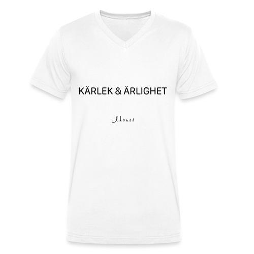 KÄRLEK & ÄRLIGHET - Men's Organic V-Neck T-Shirt by Stanley & Stella