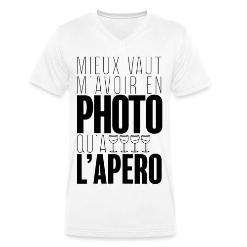 Apérophile - T-shirt bio col V Stanley & Stella Homme