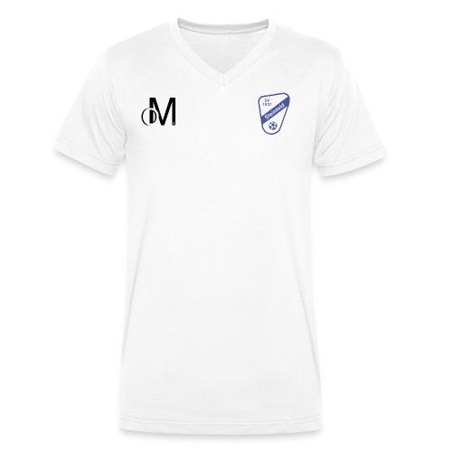 Logo SVS png - Männer Bio-T-Shirt mit V-Ausschnitt von Stanley & Stella