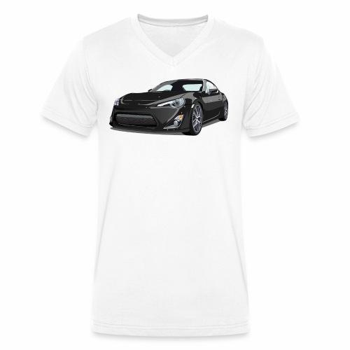 GT86/BRZ - Økologisk T-skjorte med V-hals for menn fra Stanley & Stella