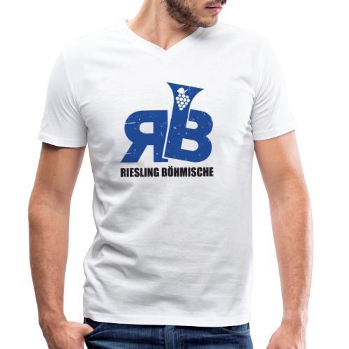 Riesling Böhmische - Männer Bio-T-Shirt mit V-Ausschnitt von Stanley & Stella