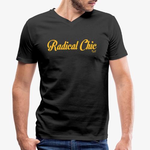 radical chic - T-shirt ecologica da uomo con scollo a V di Stanley & Stella