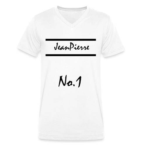JeanPierreNo1 png - Männer Bio-T-Shirt mit V-Ausschnitt von Stanley & Stella