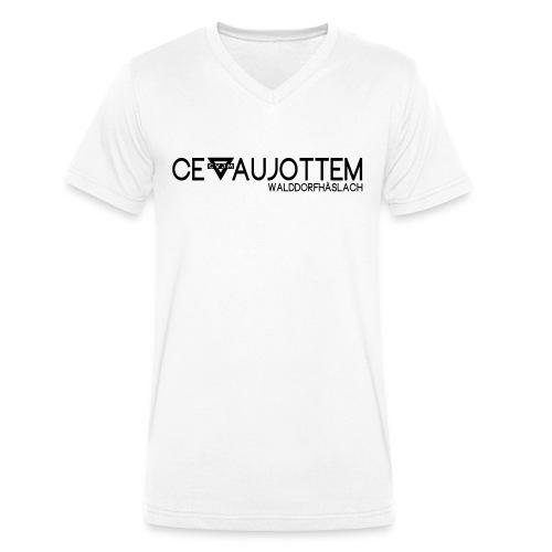 motiv1 black png - Männer Bio-T-Shirt mit V-Ausschnitt von Stanley & Stella