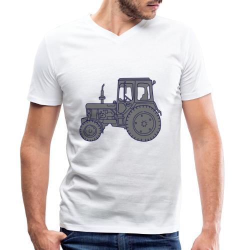 Traktor Landwirtschaft 2 - Männer Bio-T-Shirt mit V-Ausschnitt von Stanley & Stella