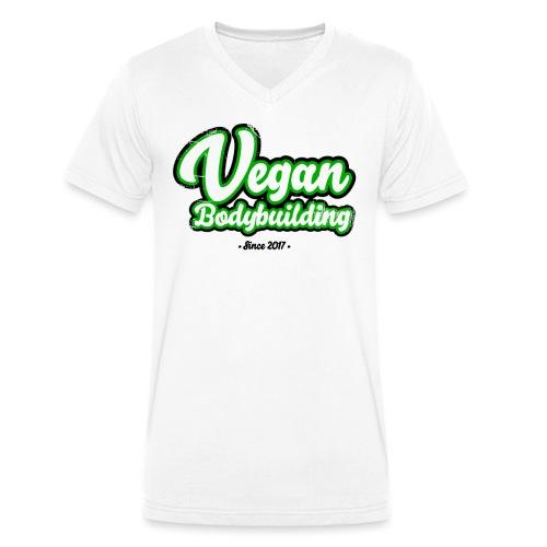 Vegan Bodybuilding -design - Stanley & Stellan miesten luomupikeepaita