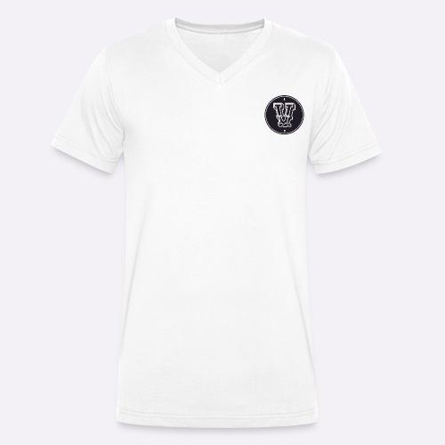 Heartcore Vegan ICON - Mannen bio T-shirt met V-hals van Stanley & Stella