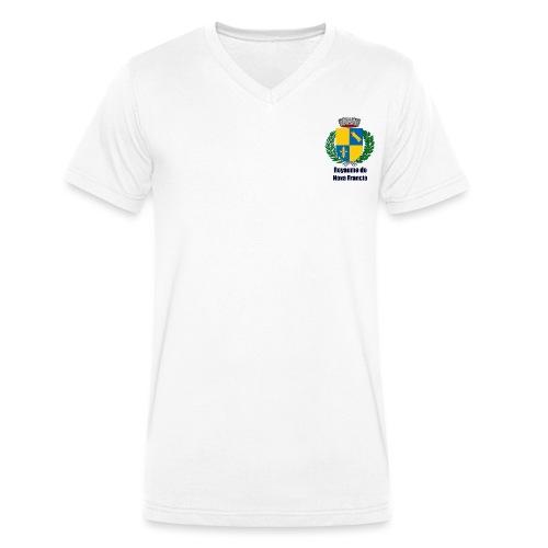 Royaume de Nova Francia - T-shirt bio col V Stanley & Stella Homme