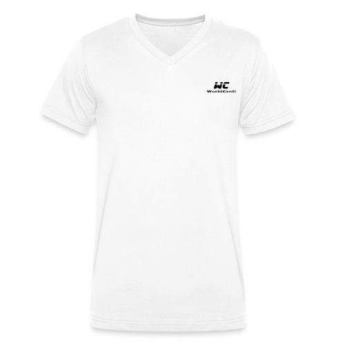 WorldCraftNoir - T-shirt bio col V Stanley & Stella Homme