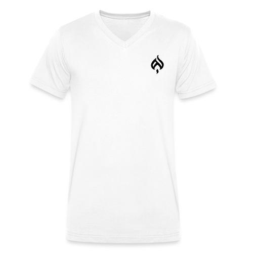 LK Flame - Männer Bio-T-Shirt mit V-Ausschnitt von Stanley & Stella