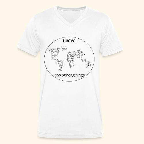 Travel and other Things - Männer Bio-T-Shirt mit V-Ausschnitt von Stanley & Stella