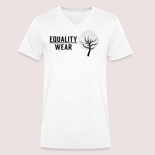 Musical Equality Edition - Men's Organic V-Neck T-Shirt by Stanley & Stella