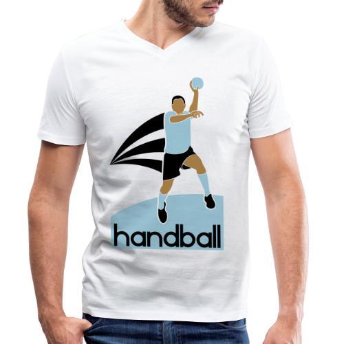 Handballer - T-shirt bio col V Stanley & Stella Homme