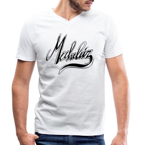 Mecheleir Script - Mannen bio T-shirt met V-hals van Stanley & Stella